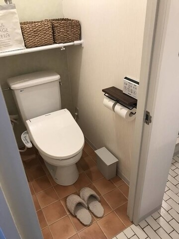 【無印良品】「壁に付けられる家具」でトイレ収納見直し。