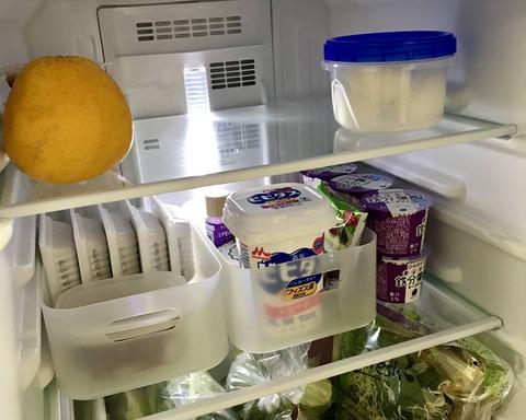 【冷蔵庫収納】一人暮らしの常備品と時短のための工夫。