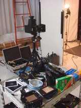 撮影テーブル
