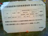 放射能-測定値2011.10.06