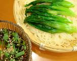 青菜冷麦2012.05.07