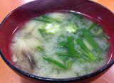 オクラ味噌汁2013.10.24