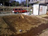 区民農園整理完了
