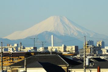 富士山2020.01.29.7:30