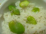 ソラマメご飯2012.05.29