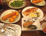 民宿食事2011.09.23