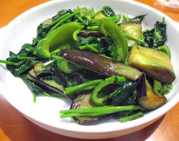 野菜炒め2016.08.29