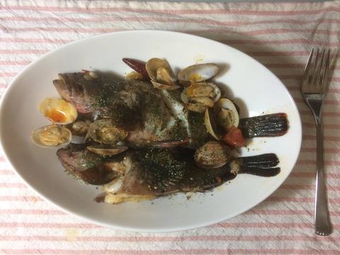 GWだから釣った魚を料理した