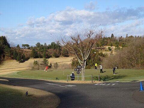 12月ゴルフ