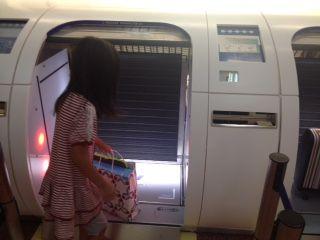 羽田空港でびっくり!