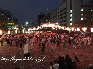銀座3丁目納涼盆踊り大会