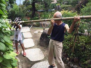 長野de夏休み ~2日目のメインは「流しそうめん」