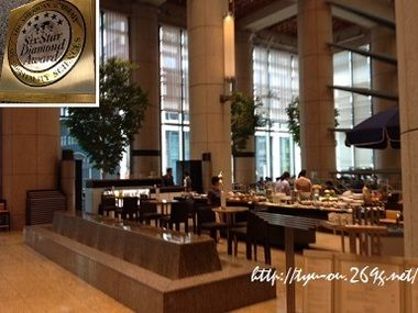 子連れO.K.!6つ星ホテルでランチビュッフェ ~マンダリンオリエンタル東京「地中海料理 ヴェンタリオ」