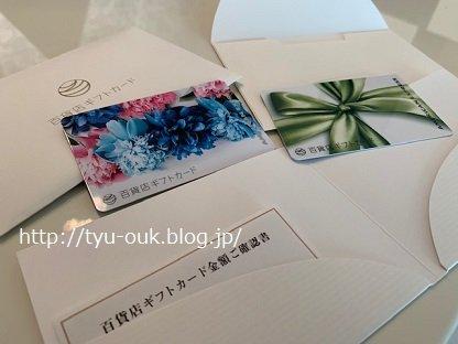 アメックスの百貨店共通カードがかわいー!!!