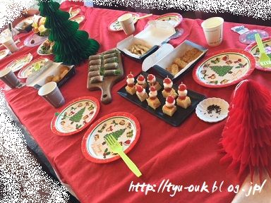 子どもたちのクリスマスパーティー♪