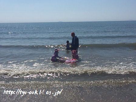 夫と娘の夏休み ~本日はみんなで海を満喫