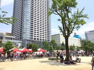 台湾フェスに来ています @錦糸町公園