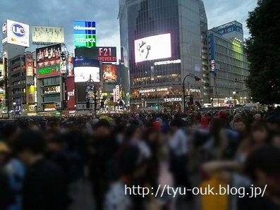 ハロウィン当日、なぜか渋谷に…! ~しゃぶしゃぶ&すき焼き「しぶや畑」