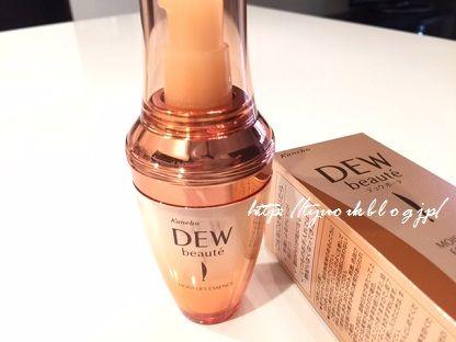10月16日新発売!持続型ハリ付与美容液 カネボウ「DEW ボーテ モイストリフトエッセンス」