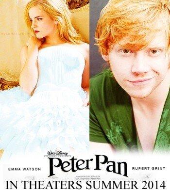 peter pan movie 2012 emma watson rupert grint relationship