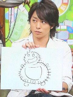 【芸能】お前ら嵐の櫻井翔が描いたトトロ知ってんのか