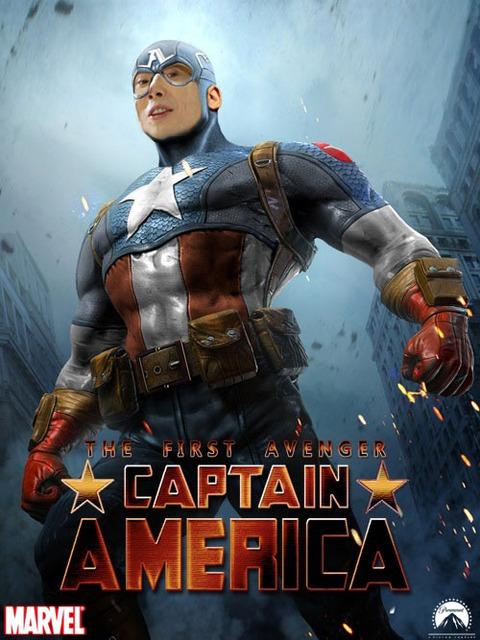 川越シェフがキャプテンアメリカだったころの画像ください
