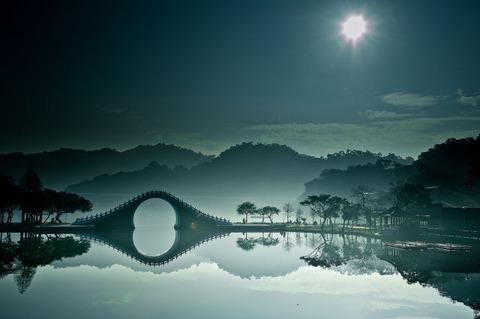【自然】台北にある秀湖里が神々しすぎてヤバイ