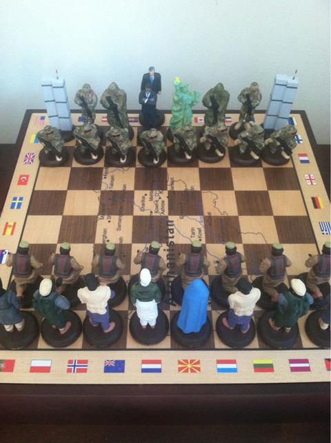 【世界】アフガニスタン土産のチェスセットがヤバい