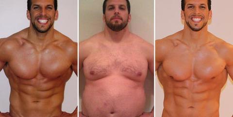 スポーツトレーナーが半年で30kg太る→半年で元通り苦しみ知るため