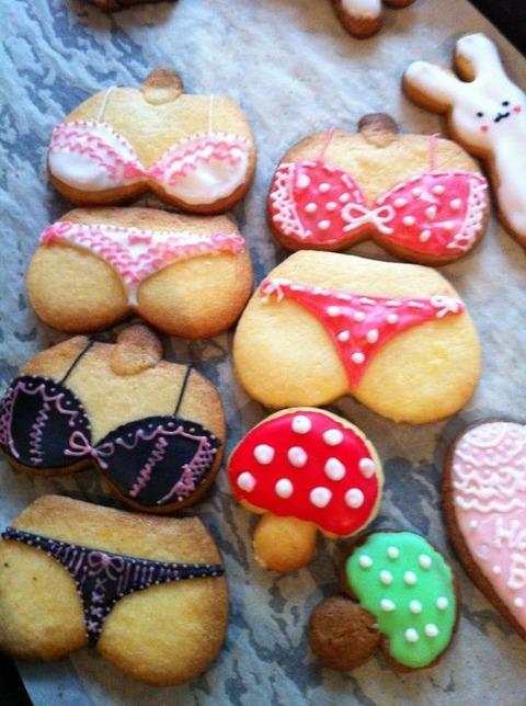 妹がまたパ○ツクッキーを作ったようです