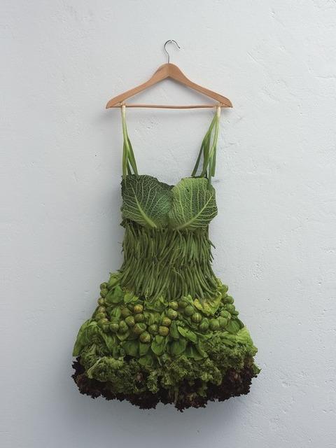 【ファッション】ベジドレス