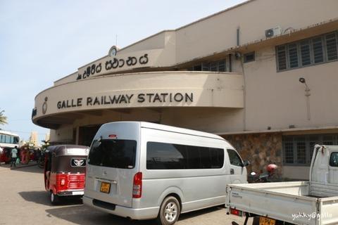 スリランカ最終日。ゴールからコロンボ、空港に移動。