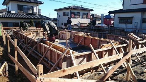小木津の家2いよいよ建ち上がります