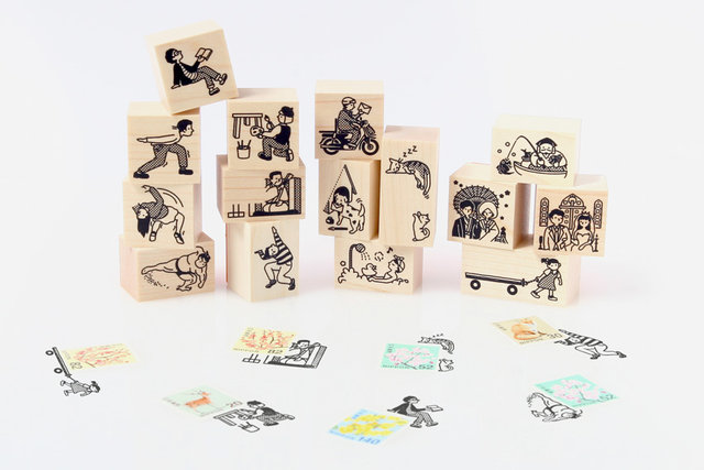 切手のこびと5