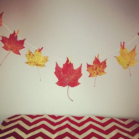 【超簡単 3分で完成!紅葉の飾り方 2選☆】米国NY写真家とスウェーデン在住デザイナーをお手本に、家でも手軽に紅葉を楽しもう!