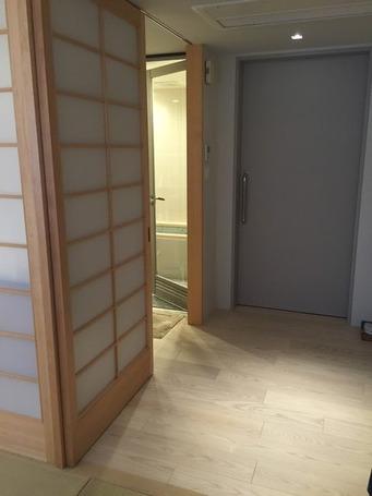 下呂小川屋トネリコ入口2