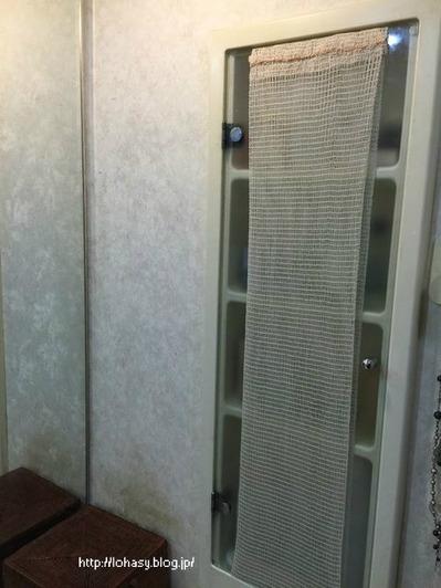 戸棚目隠し洗面所