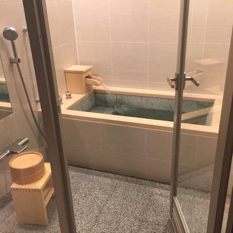 下呂小川屋トネリコ風呂