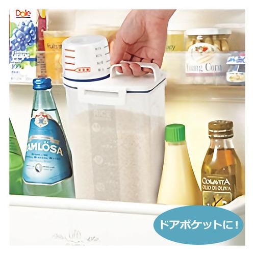 【ニトリ☆米保存容器(冷蔵庫用)】は無印より安いのに、パッキン付きでがっちり締まります。599円お値段以上! 151円の米とぎ用ボウルもオススメ!