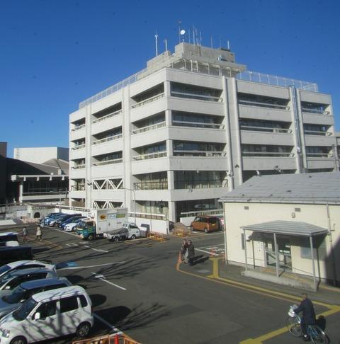 2020-09-05本庁舎ーFrom第2庁舎から撮影