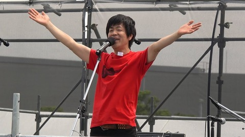 5.3Kenposyukai-18-仲里幸広-Opening@有明防災公園