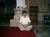 瞑想インドにて