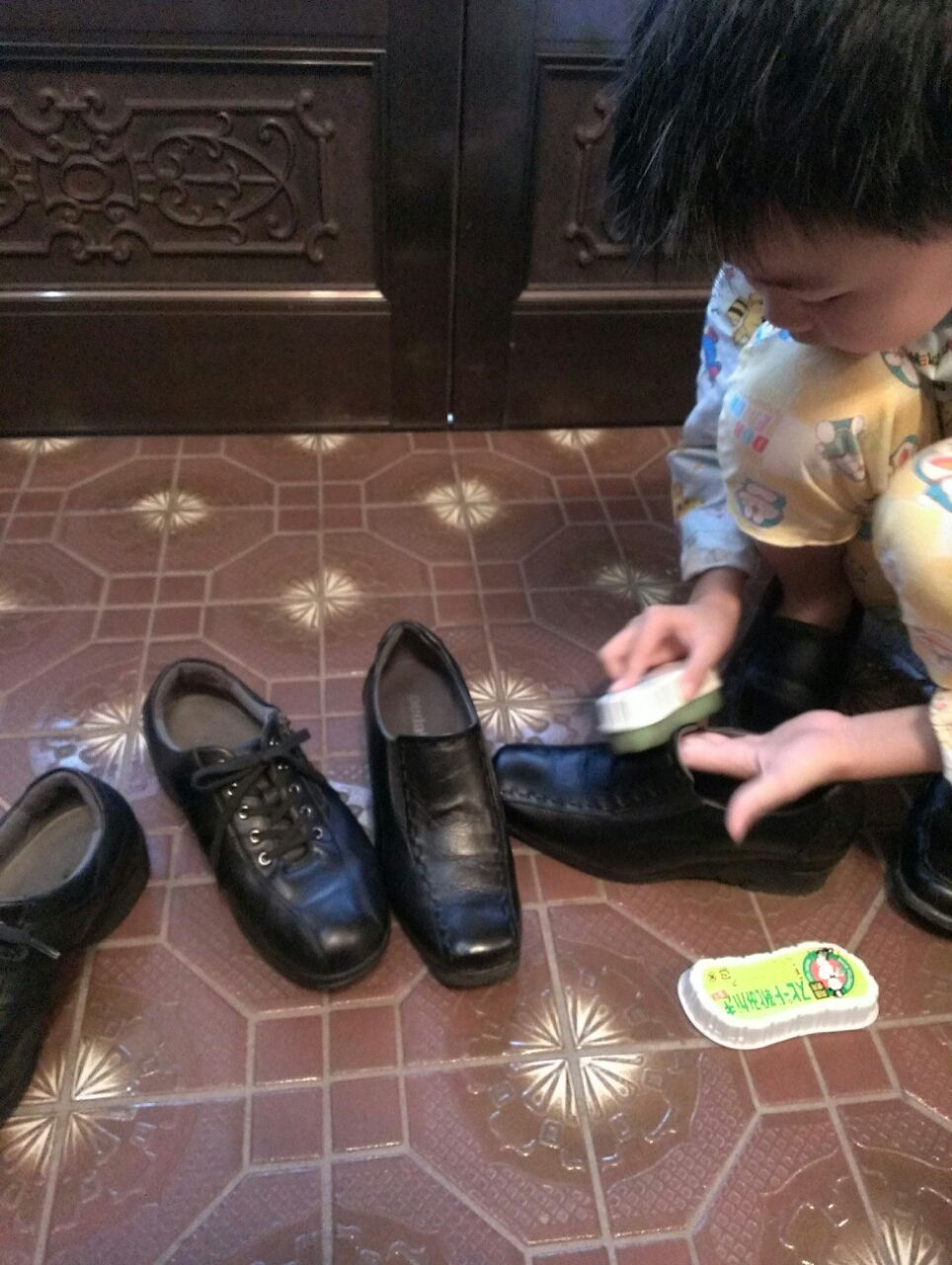 靴磨き  夢美た日記 「夢美」は八戸を拠点とする整体院です