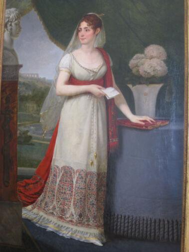 皇后ジョゼフィーヌの肖像