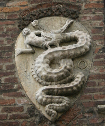 ヴィスコンティ家 紋章