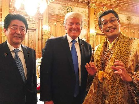 トランプ大統領 来日2017 晩餐会