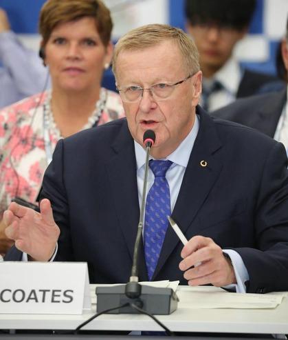 IOC コーツ副会長