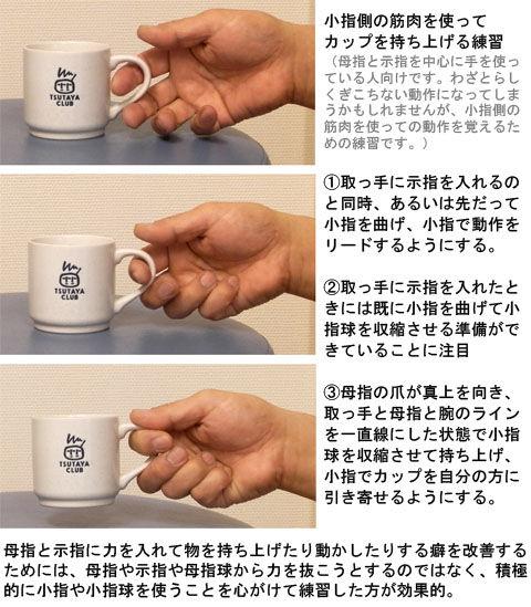 小指と小指球を使う練習_カップ
