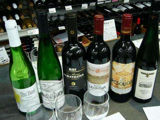 スペインのワイン、ドイツのワイン