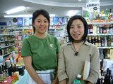 能登島でカフェをされている姥浦さんと飯田さん